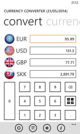 Currency Converter WP screenshot