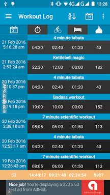Interval Timer 4 HIIT Workout screenshot